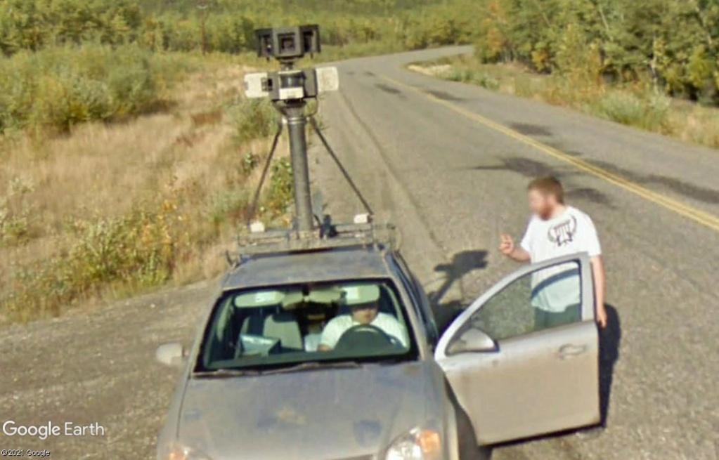 Des problèmes avec la Google Car?  - Yukon - Canada Z1914