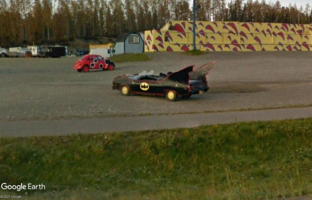 La Batmobile à Wasilla - Alaska - USA Z2011