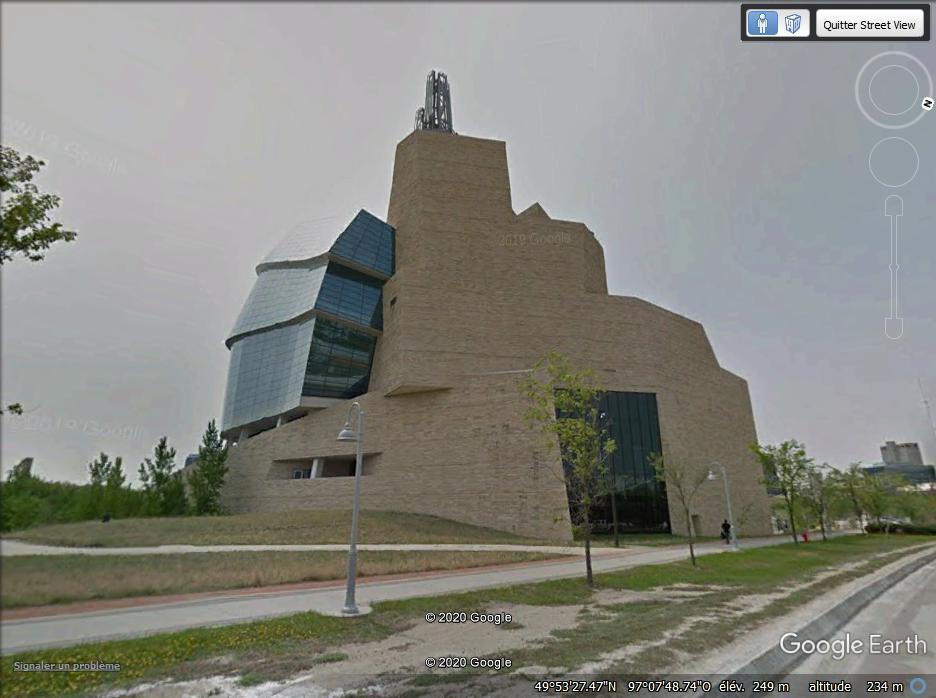 Le Musée canadien des droits de la personne - Winnipeg - Canada Z212