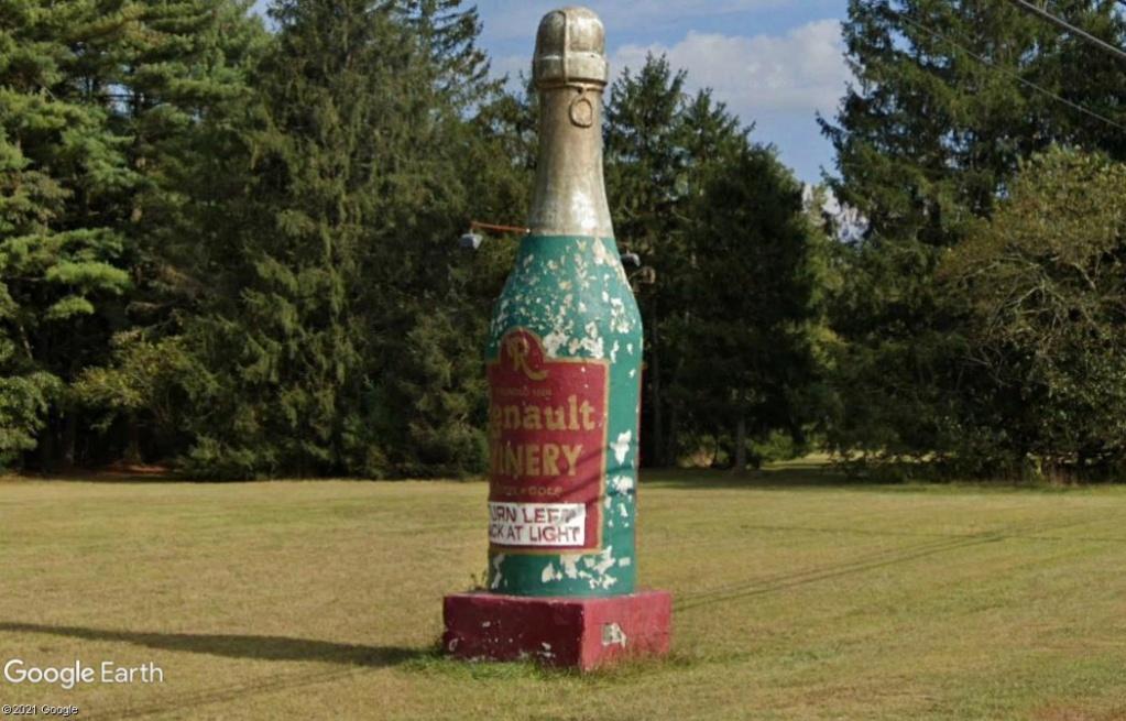 On fait du champagne chez Renault???-Egg Harbor City - New Jersey - USA Z236