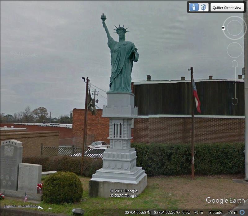 Statue de la Liberté = les répliques découvertes grâce à Google Earth - Page 6 Z310