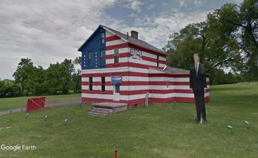 """La maison """"Trump"""" pendant les élections de 2016!- Latrobe - Pennsylvanie Z3411"""