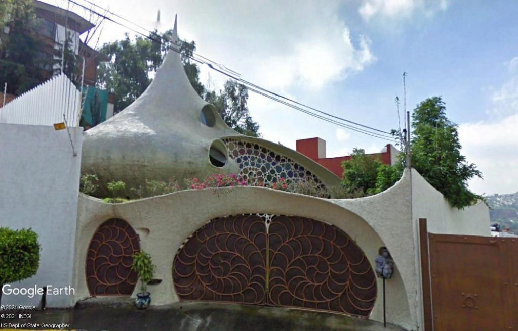 Architecture à Mexico - Mexique Z3712