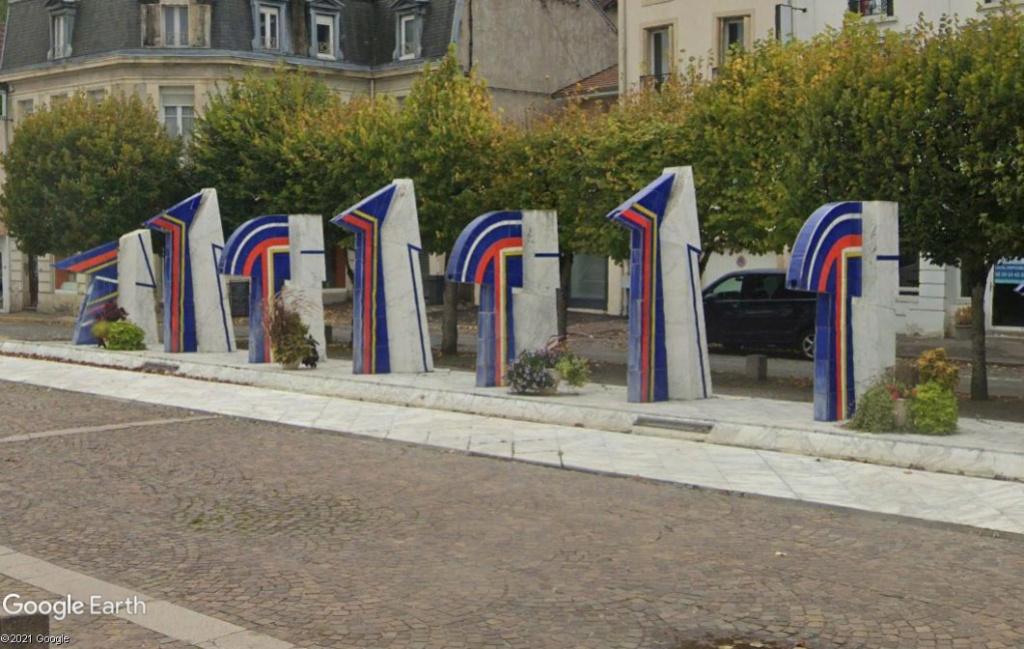 Les fontaines bleues de Contrexéville Z4610
