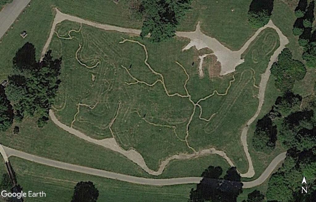 Carte des Etats Unis à Jenison - Michigan - USA Z625