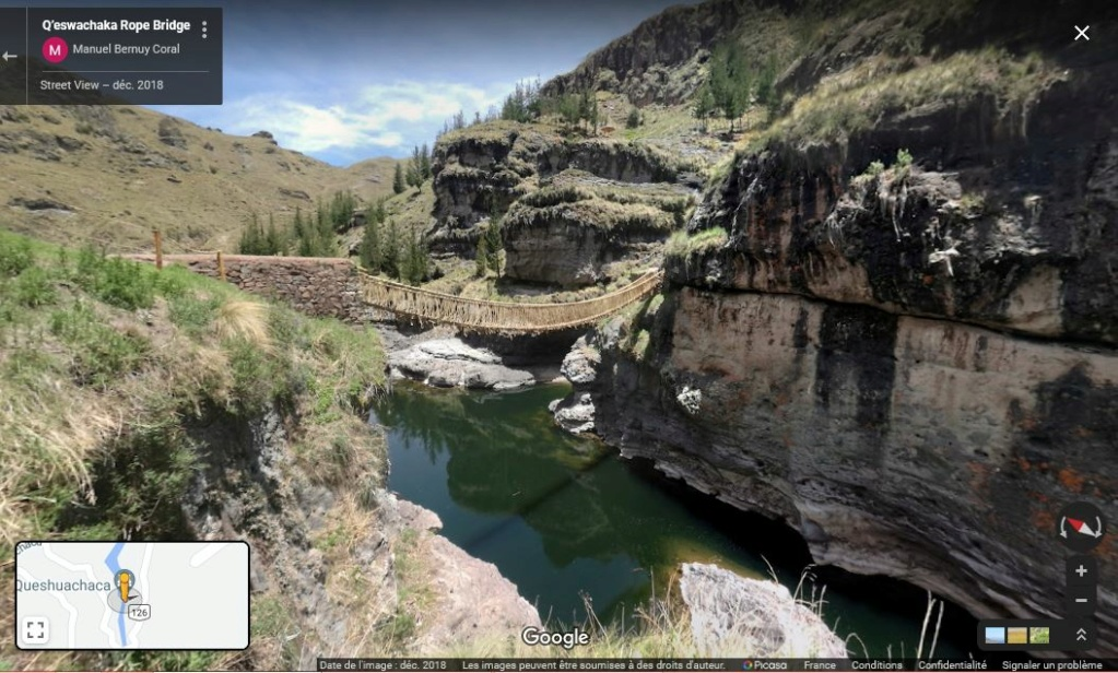 Q'eswachaka, le dernier pont suspendu inca - Pérou Z631