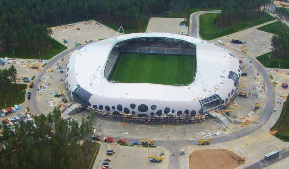 Le stade de Baryssaw - Bielorussie Zz112