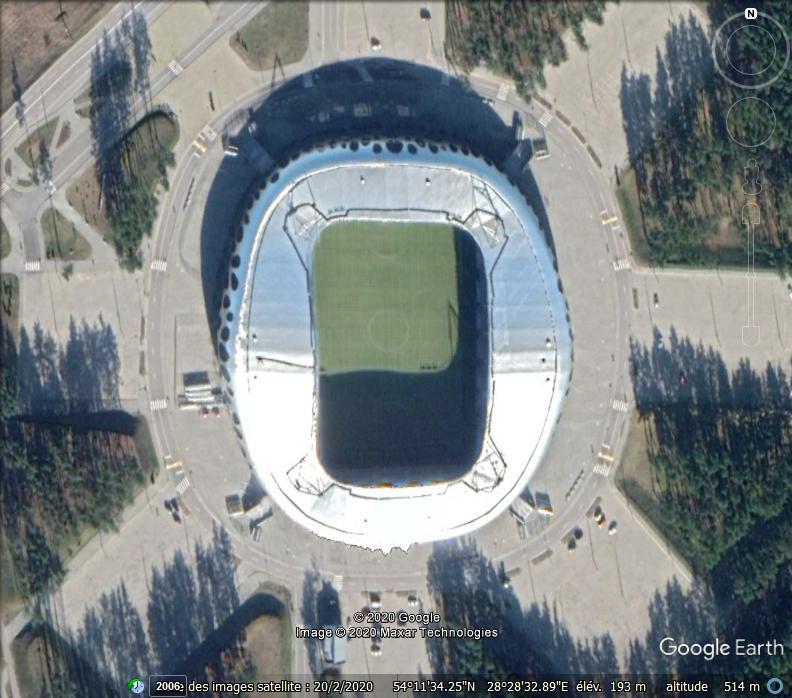 Le stade de Baryssaw - Bielorussie Zz13