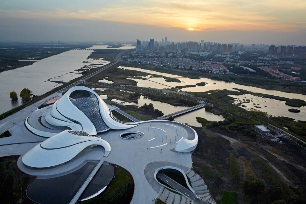 L'opéra chinois d'Harbin - Chine Zz213