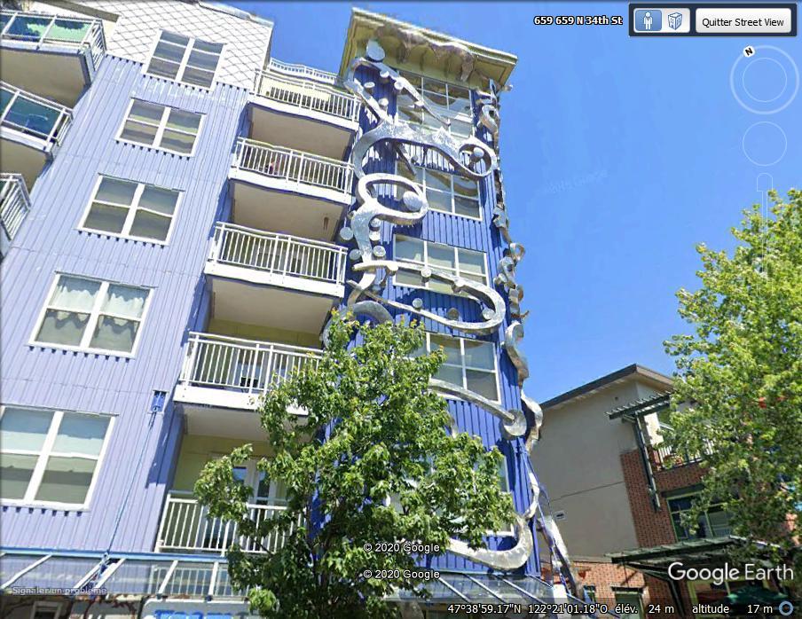 """""""Epicenter Building"""" à Seattle - Etat de Washington Zz24"""