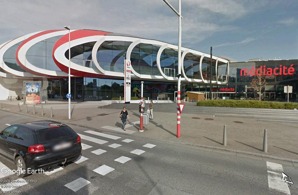 """L'étonnante """"Médiacité"""" de Liège - Belgique Zzz137"""