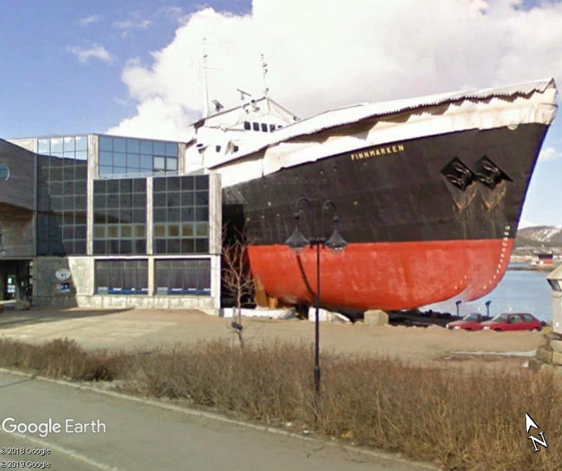 """""""Bientôt viible dans G.E"""".: En Norvège, un musée accueillera une vrai bateau, grandeur nature! Zzz14"""