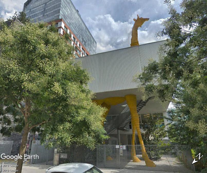 Crèche-Girafe - Boulogne Billancourt - Hauts de Seine - France Zzz142