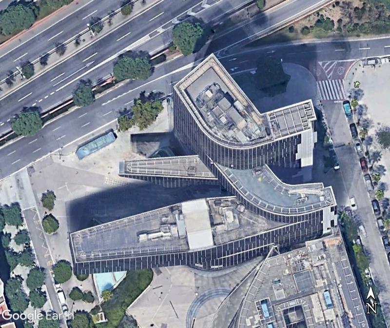 Le siège de Gas Natural à Barcelone - Espagne Zzz143