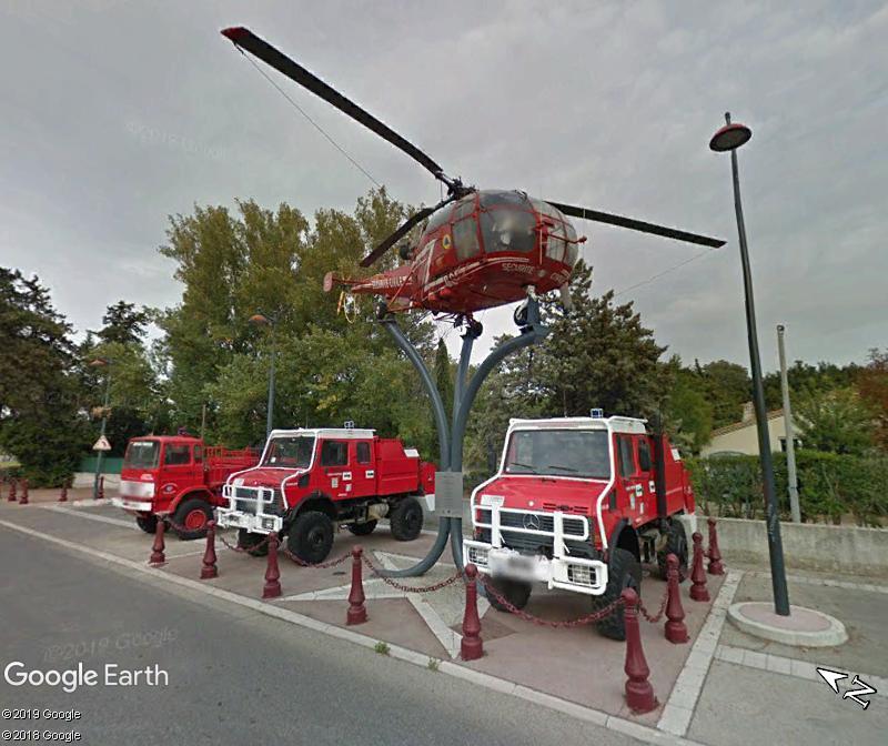 Le mémorial des soldats du feu - Saint-Victoret - Bouches du Rhône Zzz164