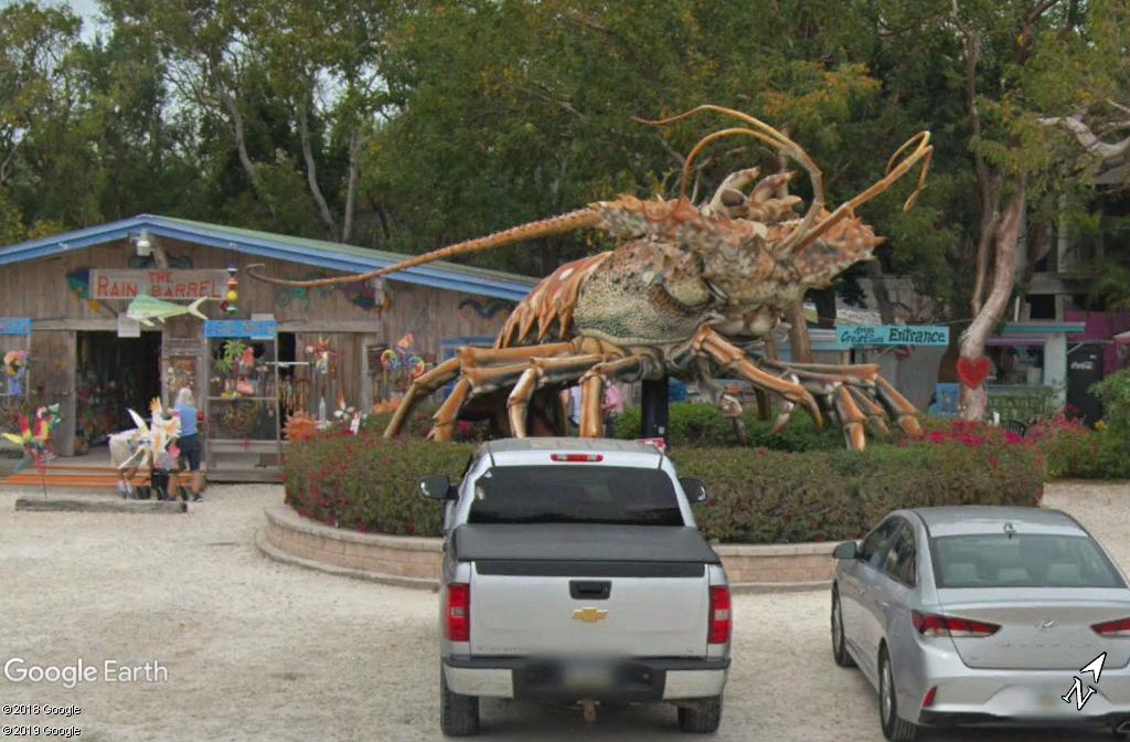 """Betsy"", le homard géant - Islamorada - Floride Zzz167"