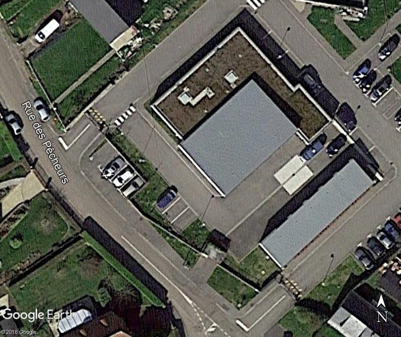 [Bientôt visible sur Google Earth] - La future Gendarmarie de St Martin-en-Campagne Seine Maritime Zzz171