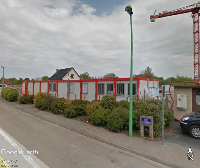 [Bientôt visible sur Google Earth] - La future Gendarmarie de St Martin-en-Campagne Seine Maritime Zzz172