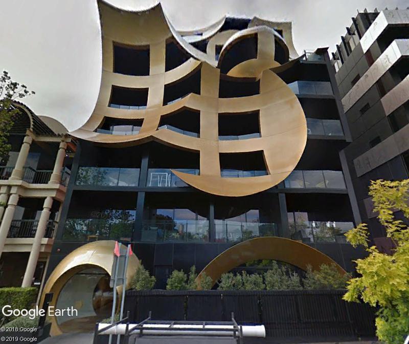 L'incroyable immeuble ORBIS - Melbourne - Australie Zzz178