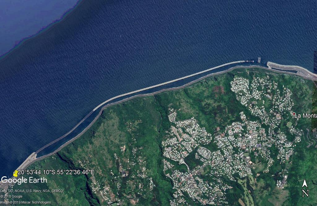 [Bientôt visible sur Google Earth]  La nouvelle route du Littoral, la Réunion Zzz195