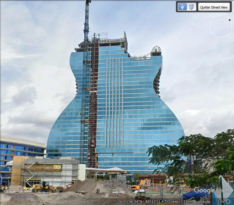 (bientôt visible dans G.E.?) Le Hard Rock Hotel à Miami Zzz265
