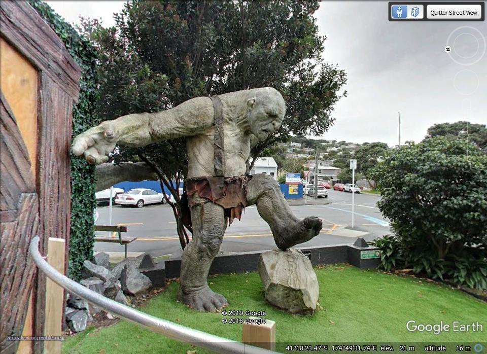 """Un troll du """"Seigneur des anneaux"""" - Wellington - Nouvelle Zélande Zzz275"""