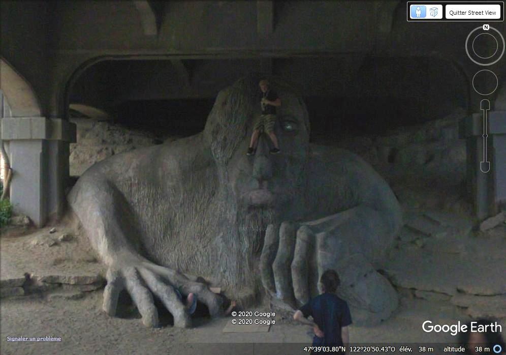 Le Troll sous un pont de Washington Zzz293