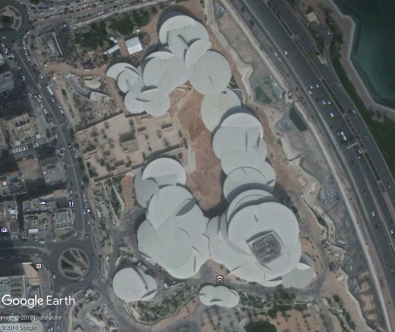 L'extraordinaire Musée National du Qatar - Doha Zzz312