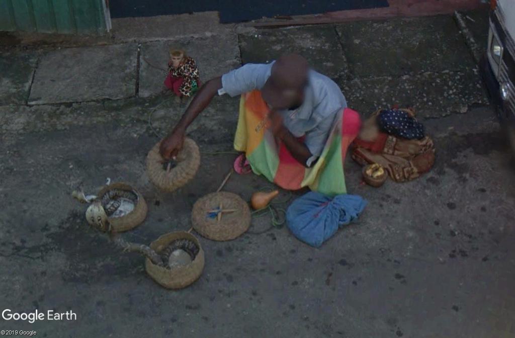 Un charmeur de serpents à Colombo - Sri Lanka Zzz313
