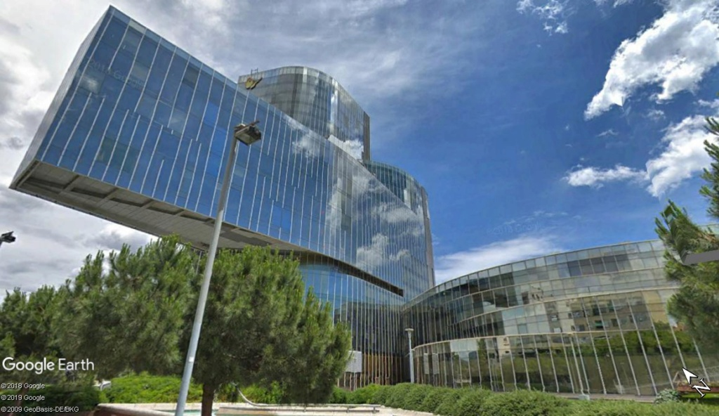 Le siège de Gas Natural à Barcelone - Espagne Zzz316