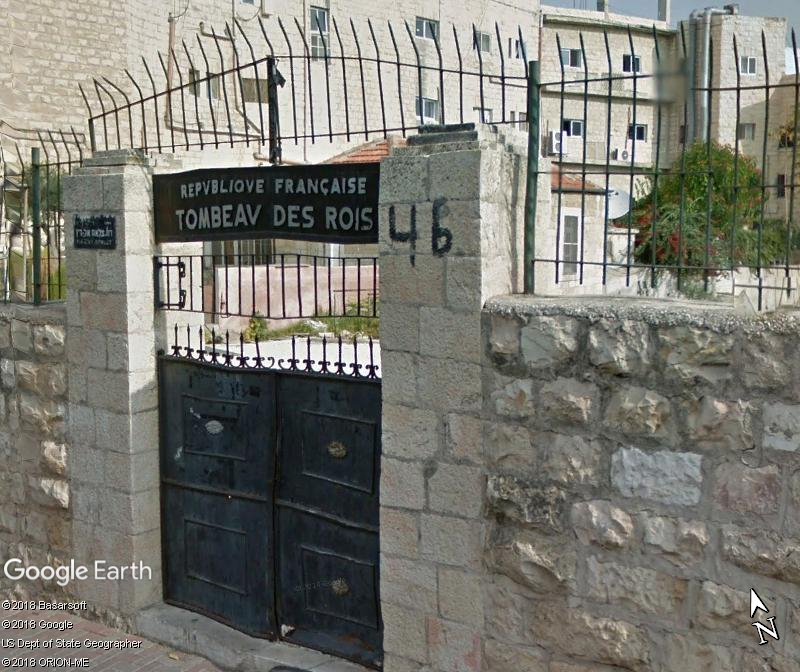 La France va rouvrir à la visite le Tombeau des rois, joyau de Jérusalem Zzz414