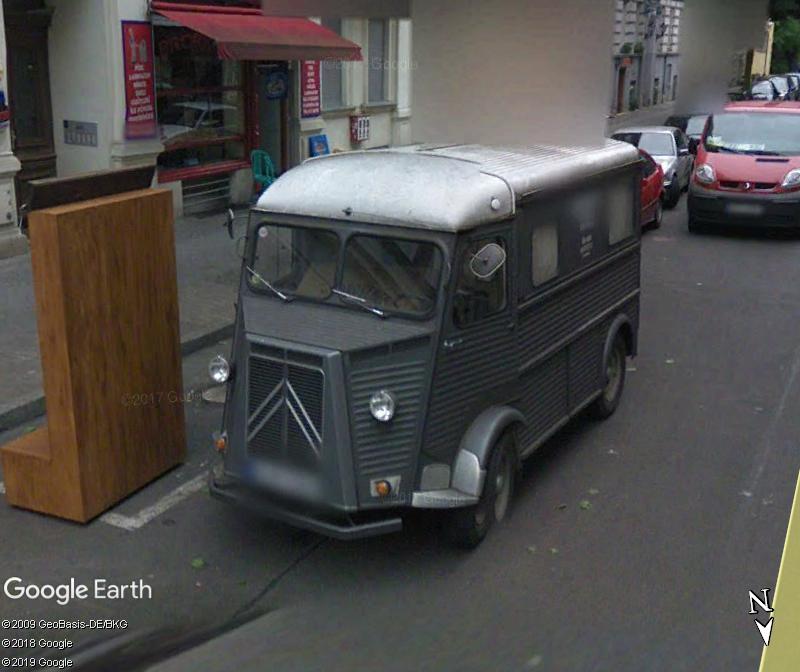 STREET VIEW: RETRO - le Citroen HY, le TUB d'après guerre. Zzz50