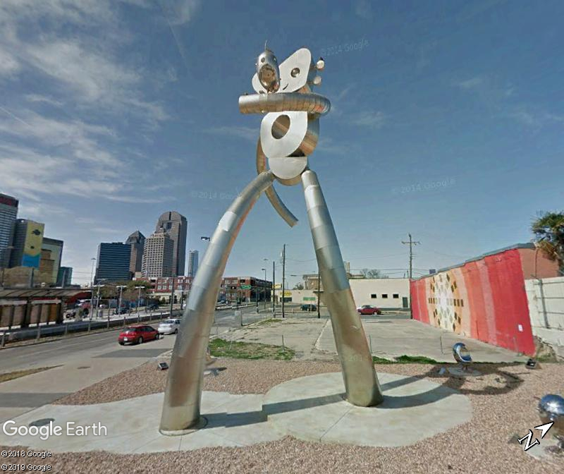"""Traveling Man: Walking Tall"" - Dallas - Texas Zzz68"