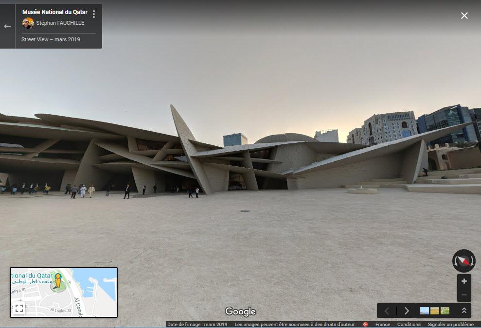 L'extraordinaire Musée National du Qatar - Doha Zzzz211
