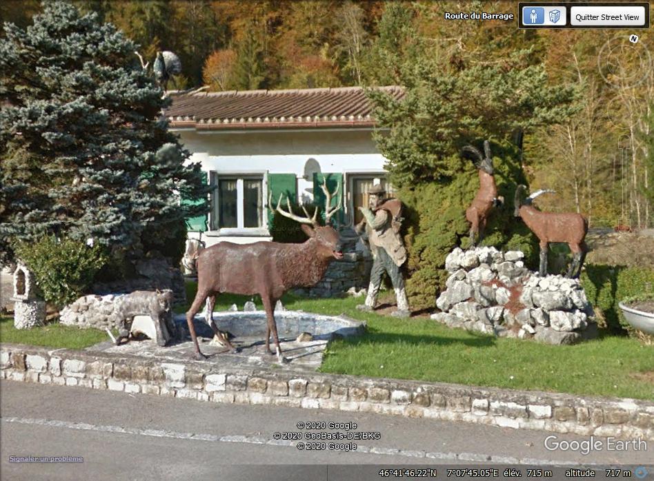 La maison d'un chasseur? La Roche - Suisse. Zzzz45