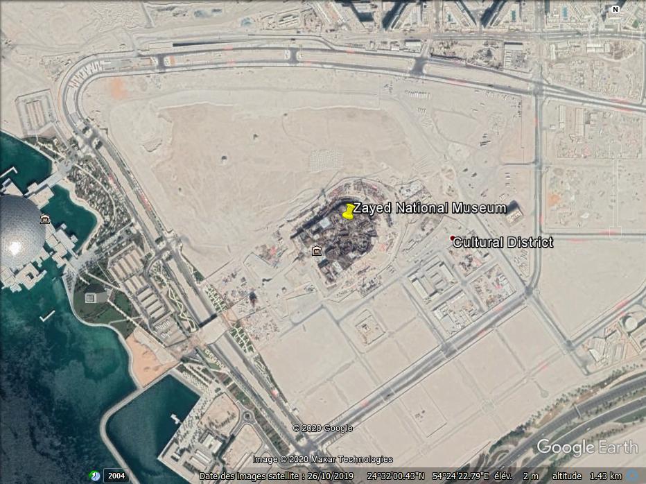 """(Bientôt dans G.E.) Le """" Zayed National Museum"""" - Abu Dhabi - Emirats Arabes Unis. Zzzz47"""