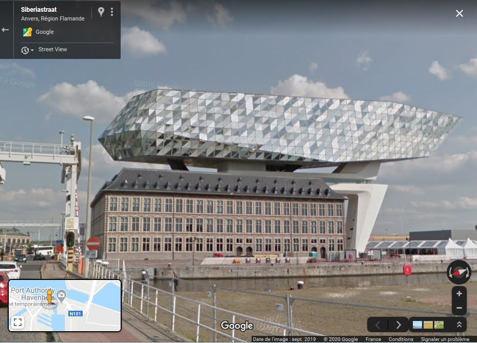 Le nouveau siège du port d'Anvers Zzzzca10