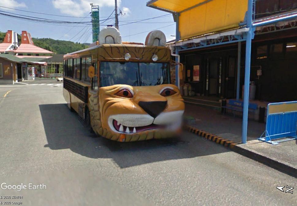 Un bus comique - Mine - Japon Zzzzz38