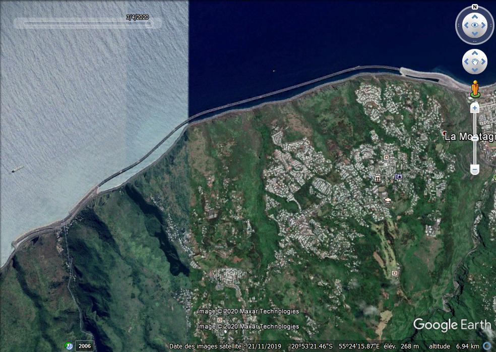 [Bientôt visible sur Google Earth]  La nouvelle route du Littoral, la Réunion Zzzzzz13