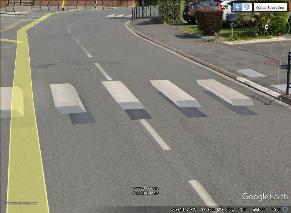 [Désormais visible sur Google-Earth] - Le passage piétons 3D de Cysoing, Nord Zzzzzz15