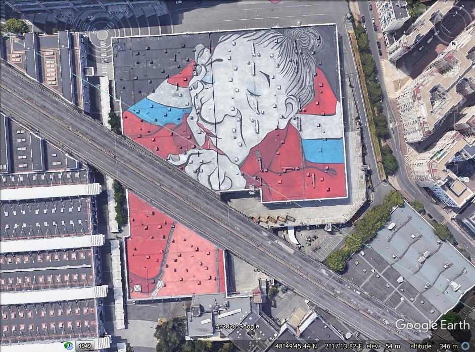 [Bientôt visible sur Google Earth] Paris : la plus grande fresque d'Europe vue du ciel Zzzzzz16