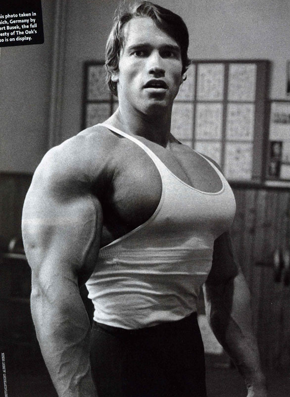 I ll be back:Arnold post.... Arnold10