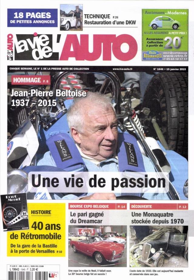 Hommage à Jean -Pierre  Beltoise. L964210