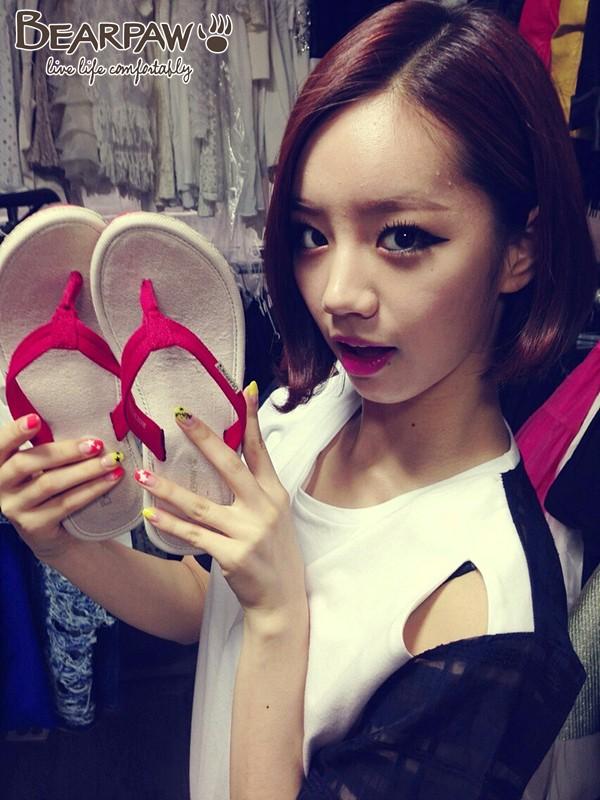 "[PHOTO] : 31.07.13 Girl's Day Hyeri - ""BEARPAW"" Sponsor ! Hyeri10"