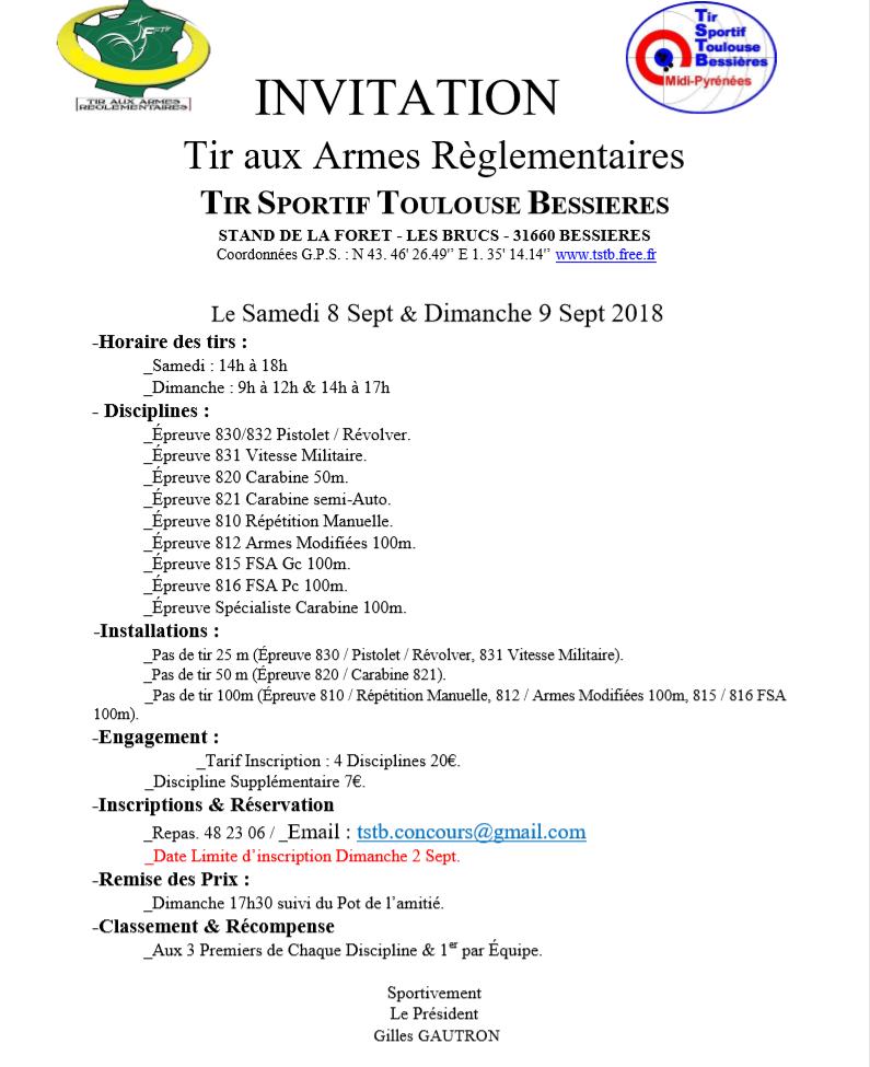 Amical TAR Bessieres 8-9/09 Invita10