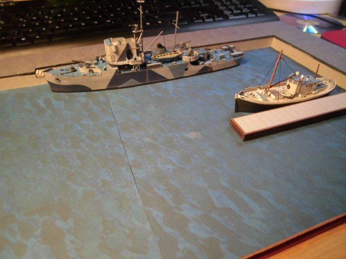Modulares Hafendiorama für Schiffe in 1:250 Cimg2028