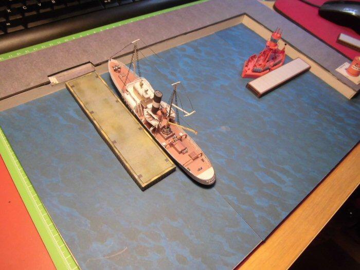 Modulares Hafendiorama für Schiffe in 1:250 Cimg2029