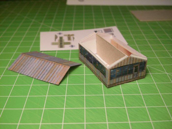 Modulares Hafendiorama für Schiffe in 1:250 Cimg2111