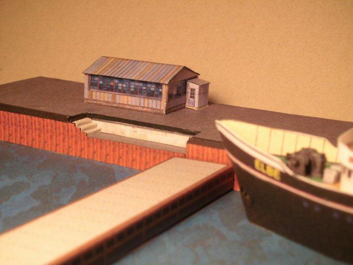 Modulares Hafendiorama für Schiffe in 1:250 Cimg2113