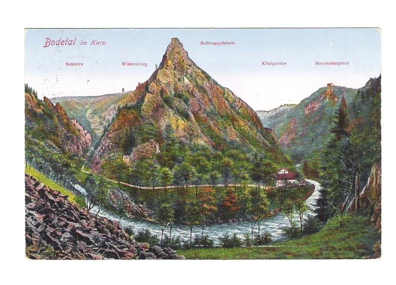 Alte Farbkarten deutscher Städte und Landschaften 410